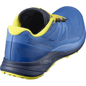 Salomon Sense Ride Shoes Men Snorkel Blue/Indigo Bunting/Sulphur Spring